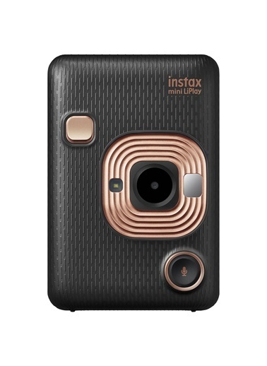Fujifilm Instax Mini Liplay Elegant Black Fotoğraf Makinesi Siyah